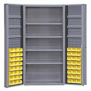 Bin Cabinet, Total Number Of Bins 48