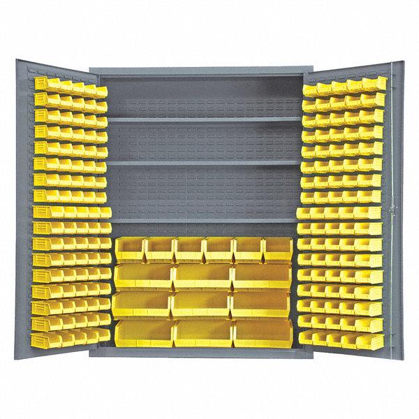 Durham Bin And Shelf Cabinet 78 Overall Height 60