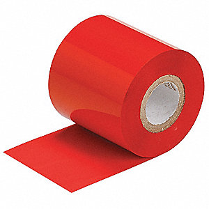 Ribbon,Red,984 ft.Lx2-23/64inW,Resin