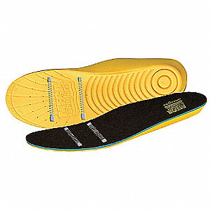 Men's Anti-Static Insole, Size: Men 12 to 13