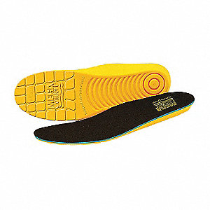 Unisex Anti-Fatigue Molded Insole, Size: Men 6, Women 8