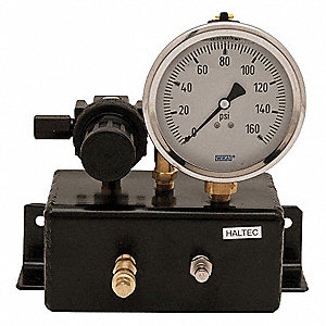 Analog Gauge Check Station,160 PSI