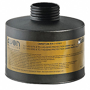 Gas Mask Canister For Use With Mfr. No. C50