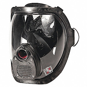 Rectus Connection Full Face Respirator, 4 Pointwith Kevlar® Mesh Suspension, S