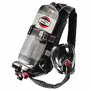 SCBA,45min,4500psi,AirSwitch Mask,L