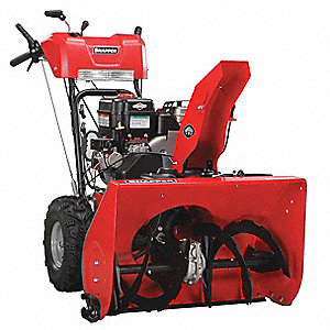 "Snow Blower, Clearing Path:  27"", Fuel Type: Gas, 12"" Auger Diameter"