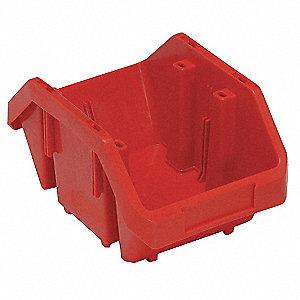 HOPPER BIN,9-1/2X6-5/8X5,RED