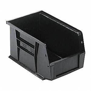 Hang and Stack Bin,9-1/4 In L,6 In W