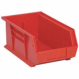 STACK/HANG BIN,13-5/8X8-1/4X6,RED