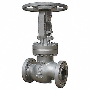 "Class 300 300# Flanged Globe Valve, Carbon Steel, 4"" Pipe Size"