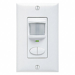Occupancy Sensor, Sensor Type: Passive Infrared, Installation Type: Wall, 2025 sq. ft. Coverage