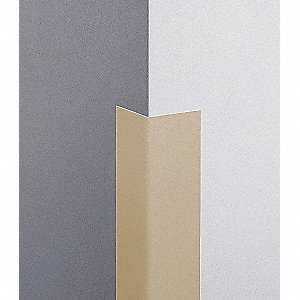 Corner Grd,3in.W,Tan,PVC