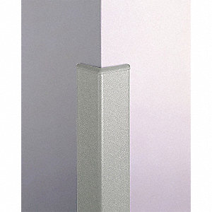 Corner Grd,3in.W,Silver Gray