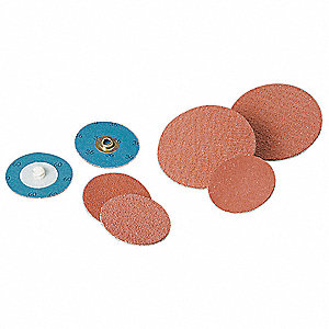 Quick Change Disc,2in Dia,80,Coatd,PK100