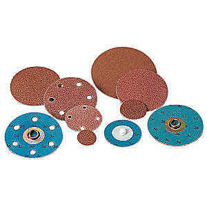 "2"" Coated Quick Change Disc, TS/TSM Turn-On/Off Type 2, 80, Medium, Aluminum Oxide, 100 PK"