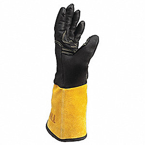 Welding Gloves,TIG,Large,PR