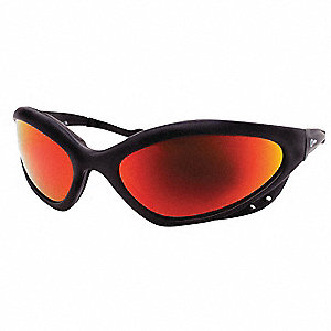 ArcArmor Scratch-Resistant, Reflective  Welding Safety Glasses, Shade 3.0 Lens Color