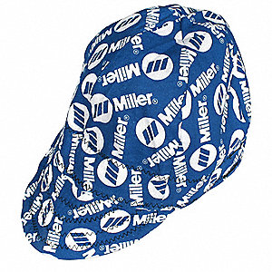 Welding Cap,Color Black/Blue,7-1/2