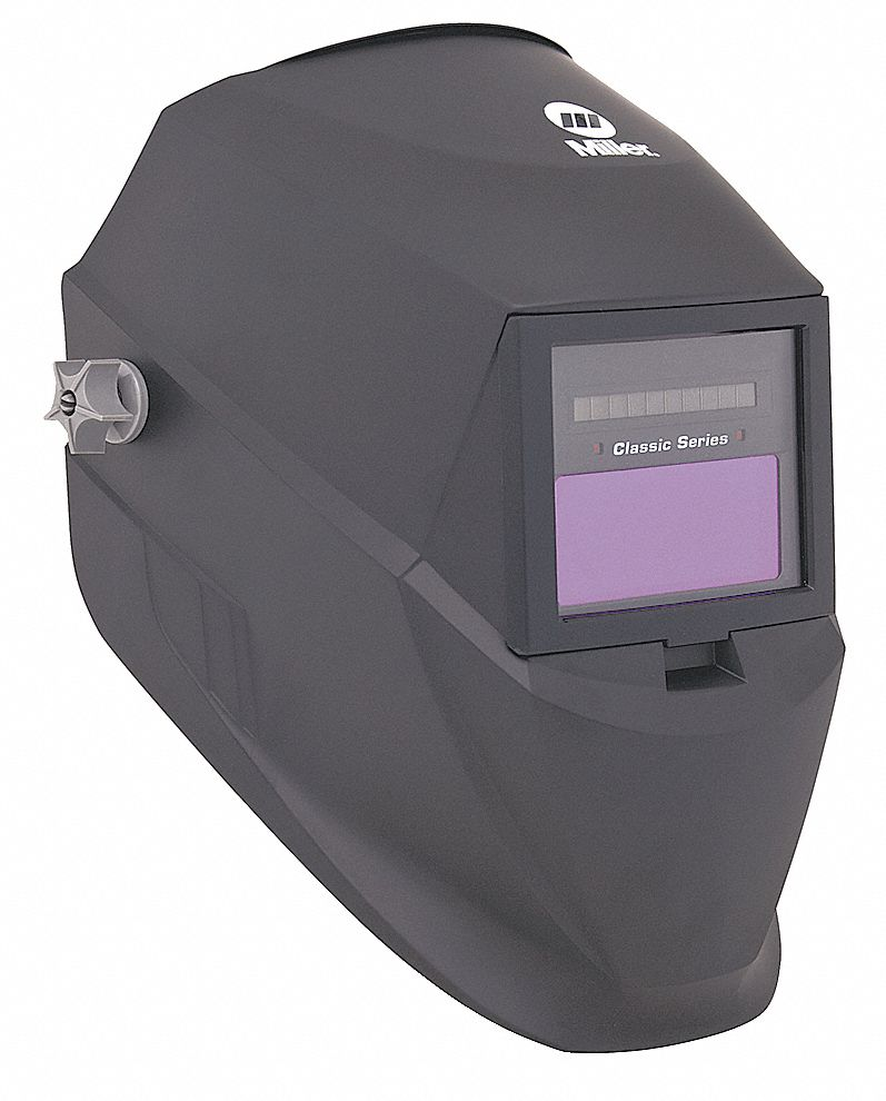 Classic Series, Auto-Darkening Welding Helmet, 8 to 12 Lens Shade, 3.74 in x 1.38 in Viewing Area
