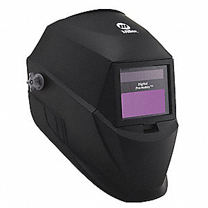 Auto Darkening Welding Helmet, Black, Digital Pro-Hobby, 3, 8 to 13 Lens Shade