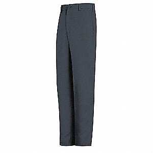 "Charcoal Pants, EXCEL FR®Flame-Resistant, Twill 100% Cotton, Fits Waist Size: 42"", 34"" Inseam, 10.6"