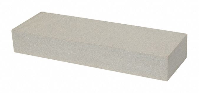 Benchstone,  Silicon Carbide,  Fine,  8 in Length,  2 in Width,  1 in Height