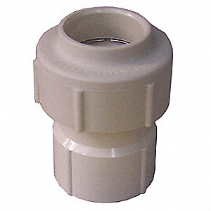 "Female Threads Adapter, Hub, 3/4"" Pipe Size - Pipe Fitting"