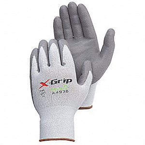 Cut Resistant Gloves,Gray,XL,PK12