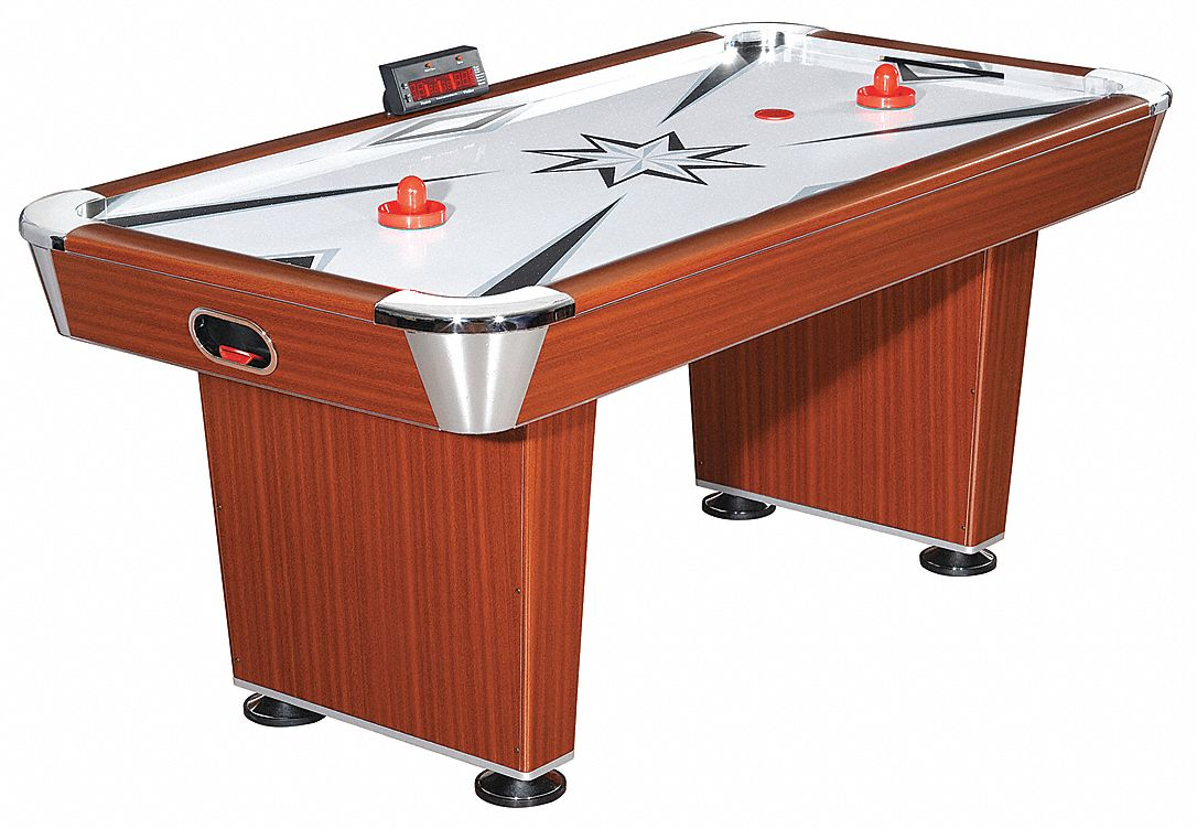 Medium Density Fiberboard Air Hockey Table, 72 in Length, 31 in Height, 36 in Width