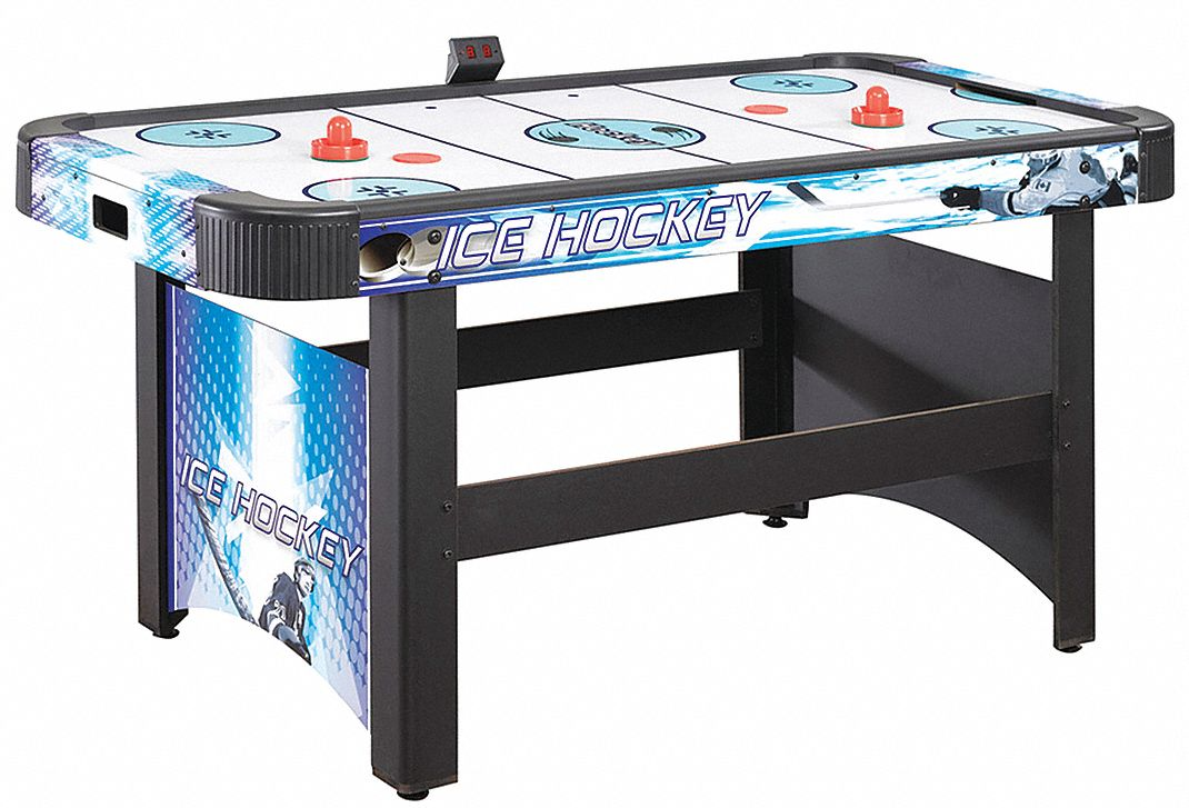 Medium Density Fiberboard Air Hockey Table, 60 in Length, 31 in Height, 29 5/8 in Width