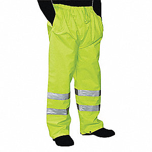 Rain Pants,3XL,Green,Unisex
