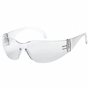 Comet  Anti-Fog Safety Glasses, Clear Lens Color