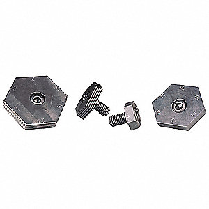 Series 9 Clamp, 1 to 6 Serrated, M12