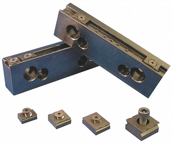 Vise Fixture Grip,  Talongrip,  1 in Size,  For Use With Clamps and Fixtures,  Low Profile Clamping