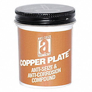 Anti Seize Compound, 2 oz. Container Size, 2 oz. Net Weight