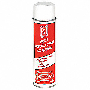 Insulating Varnish, 16 oz, Translucent Red