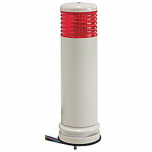 "9-1/8"" Steady Tower Light LED Assembly with 60mm Dia., Red"