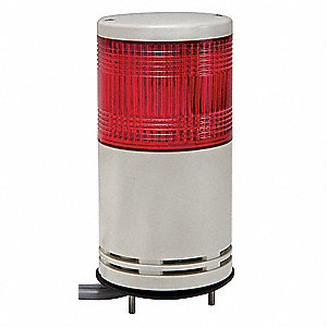 "8-1/2"" Steady, Flashing Tower Light LED Assembly with 100mm Dia., Red"
