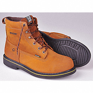Work Boots, Size 10, Toe Type: Steel, PR