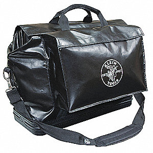 "Tool Bag,2 Pockets,24""x10""x20"",Black"