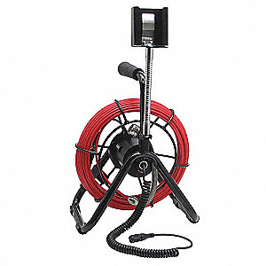 Pipe Inspection Probe,Reel and Brushes