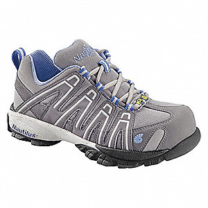 Athletic Style Shoe,Women,9-1/2M,Gray,PR