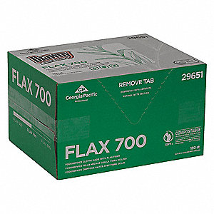 "Brawny® Professional Flax Food Service Cloths, 150 Ct. 12-3/4"" x 21"" Sheets, White"