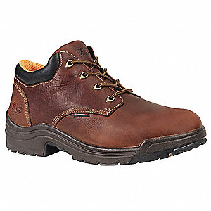 Work Shoes,Pln,Mens,11.5M,H Brown,PR