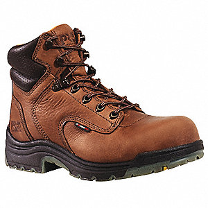 Work Boots,Pln,Womens,6W,6In,Coffee,PR