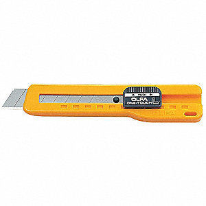 "Utility Knife,5-3/4"" Overall Length,Number of Blades Included: 1"