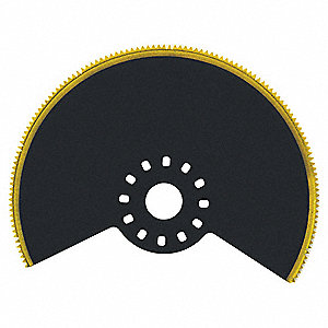 Oscillating Round Saw Blade,3-1/4 In