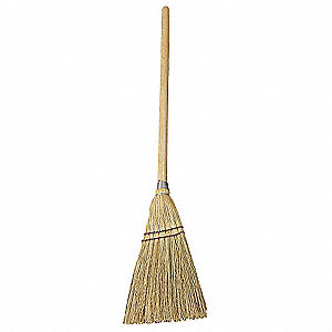 Corn Lobby Broom, Overall Length 39""