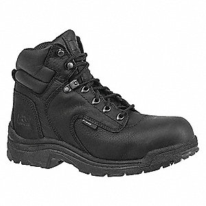 Work Boots,Alloy,Wmns,10M,6In,Black,PR