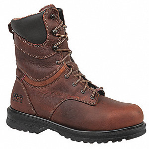 Work Boots,Alloy,Wmns,8.5M,8In,Brown,PR